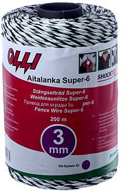 OLLI Shockteq-aitalanka Super-6, 3 mm